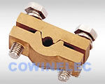 PJDT copper single groove clamp